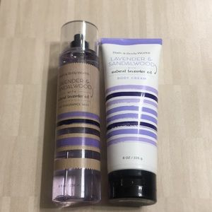 Other - Bath & Body Works body cream and spray both 8 ozs